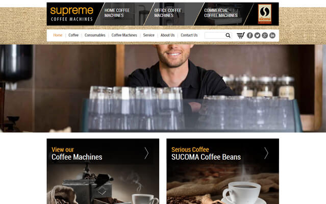 supreme coffee machines